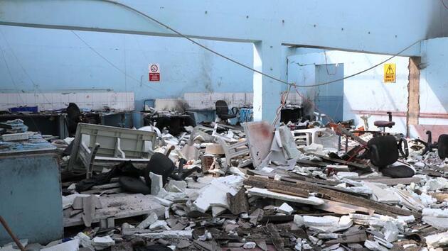 7 kişinin öldüğü fabrikadan geriye enkaz kaldı