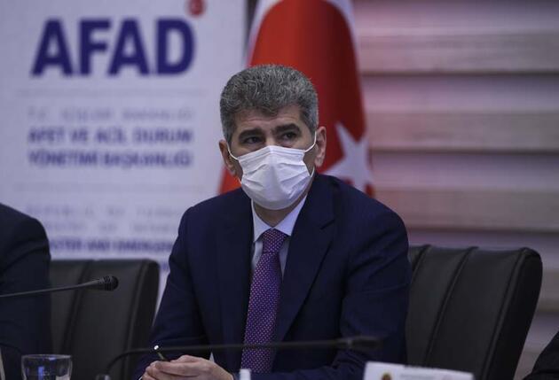 İzmir depremi AFAD Merkezinden koordine ediliyor
