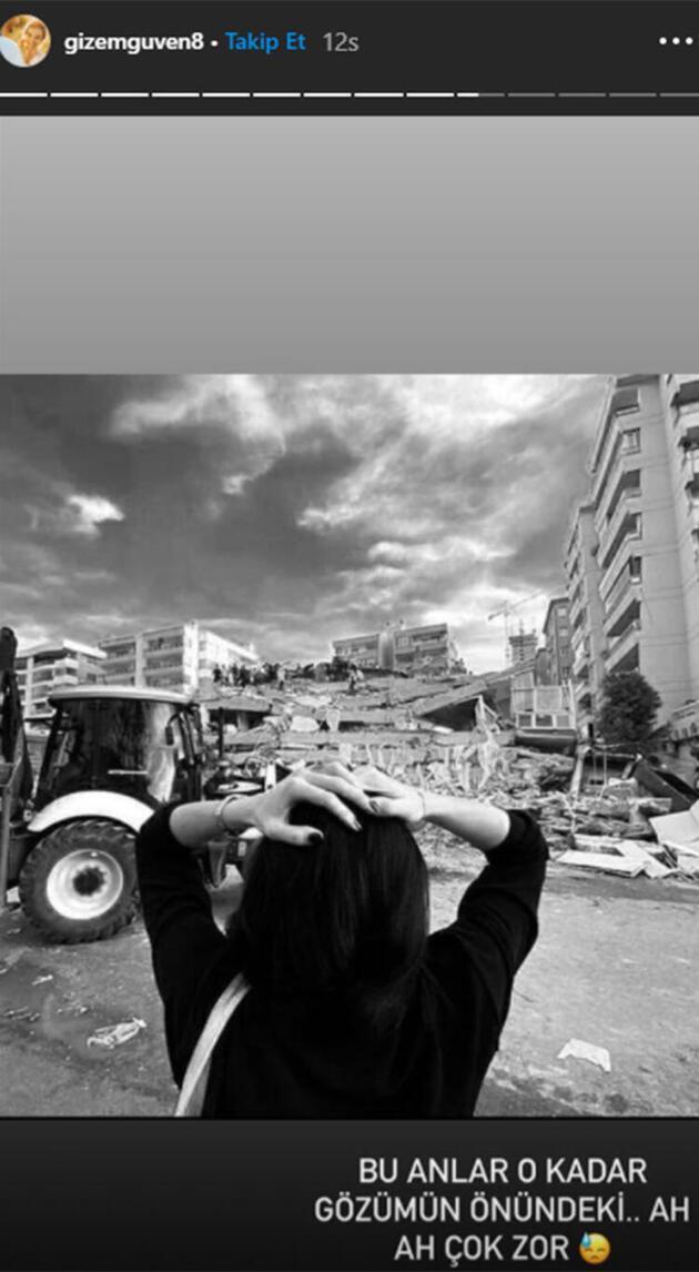 Gizem Güven 1999 depreminde enkaz altından çıktığı günü unutamıyor!