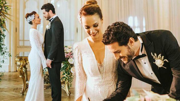 Oyuncu Ali Yağcı sevgilisi Başak Özen'le evlendi