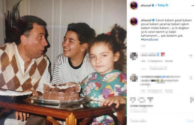 Gül Sunal ve Ali Sunal'dan duygulandıran Kemal Sunal paylaşımları