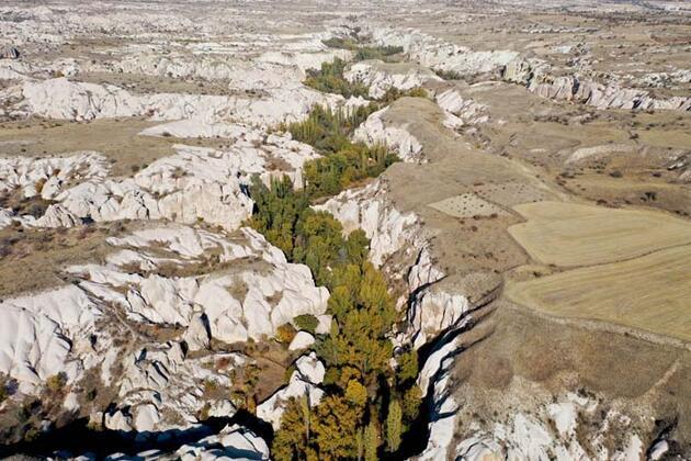 Kapadokya'nın gözbebeği Gomeda Vadisi doğa tutkunlarını ağırlıyor