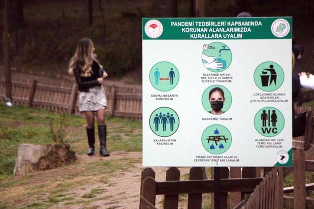 Pandemi tehlikesinden uzak doğa ile başbaşa tatil