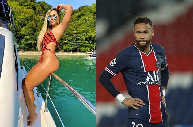 İşte Neymar'ın yeni sevgilisi