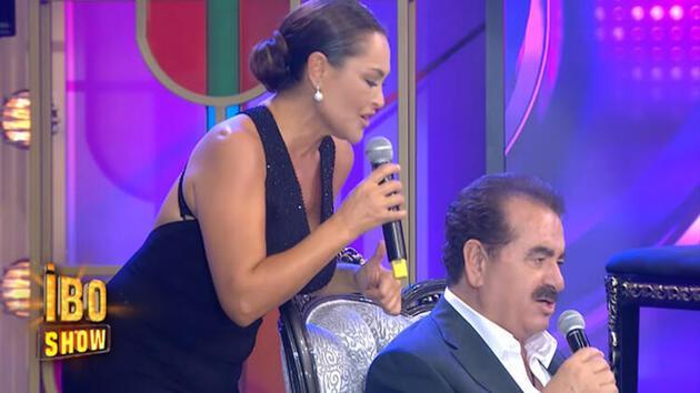 İbo Show'da İbrahim Tatlıses'i duygulandıran düet