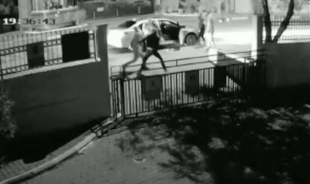 Ölümle biten kavganın güvenlik kamerası görüntüleri ortaya çıktı
