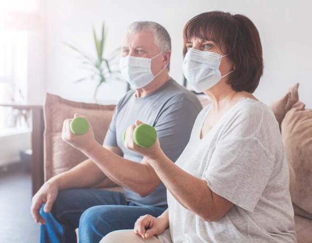 Kemik erimesine karşı birebir! Pandemi sürecinde tehlike daha da arttı