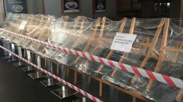 AVM'de yerde yemek yiyenlerin görüntülerinin ardından tedbir alındı