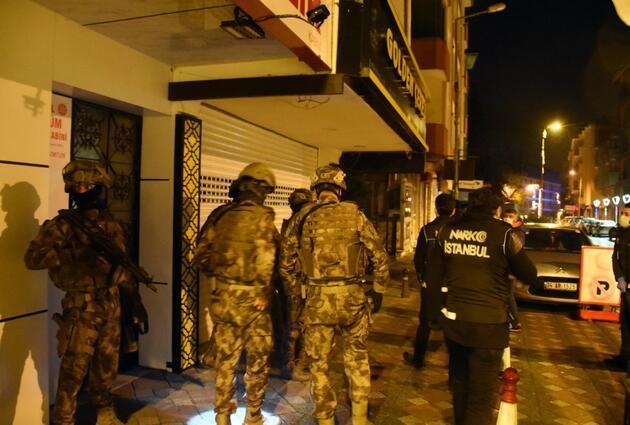 İstanbul'da eş zamanlı uyuşturucu operasyonu: Çok sayıda gözaltı var