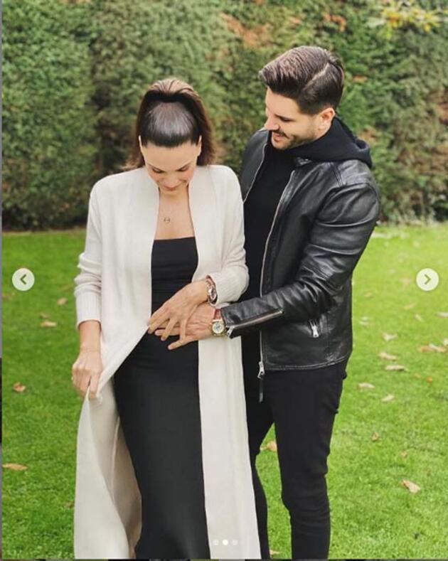 Tolgahan Sayışman ve Almeda Abazi'den müjdeli haber! İkinci bebekleri geliyor