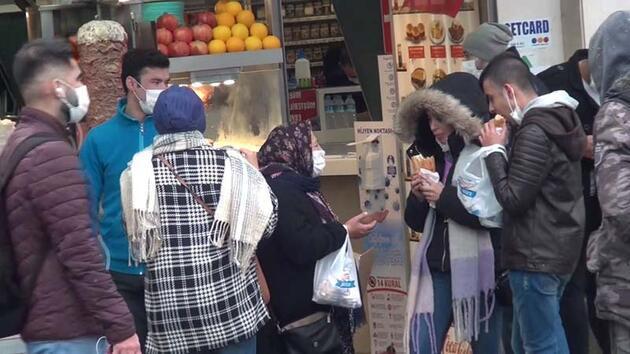 Taksim'de akılalmaz görüntüler! Ne yöne baksanız olay var...