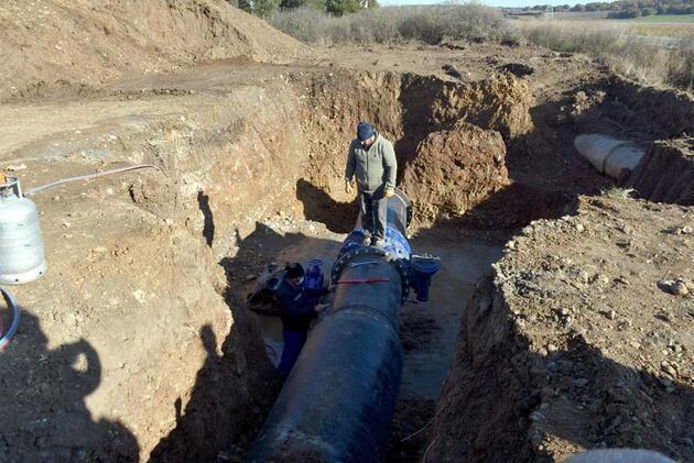 İçme suyunu sağlayan baraj kurudu; 36 saat kesinti uygulanıyor