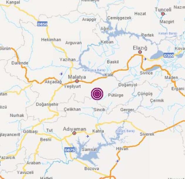 Malatya'da korkutan deprem: Vatandaşlar sokaklara döküldü