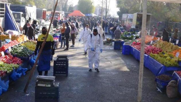 Meşhur pazar kapandı, turistler kapıdan geri döndü