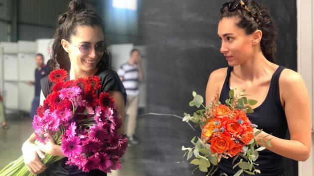 Hande Doğandemir çiçek tasarlayacak
