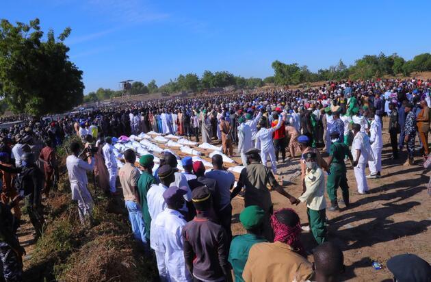 Nijerya'da katliam: Tarlada çalışan 110 çiftçi öldürüldü