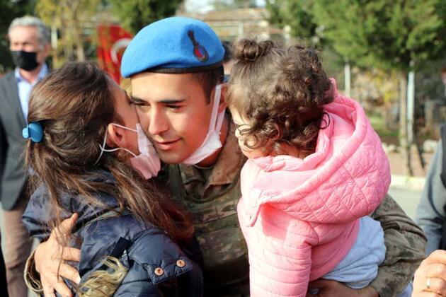 241 komando, dualarla Suriye'ye uğurlandı