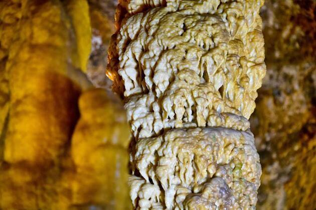 Karaca Mağarası'nı 6 ayda 50 bin kişi ziyaret etti