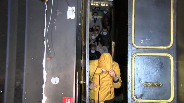 İstanbul'da eğlence mekanına koronavirüs baskını: 40 kişiye 120 bin TL ceza