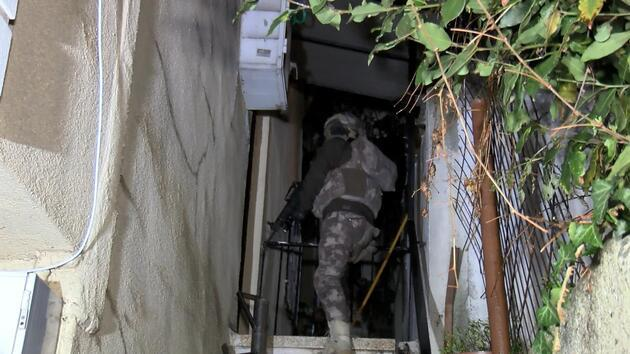 İstanbul'da uyuşturucu operasyonu: Çok sayıda gözaltı