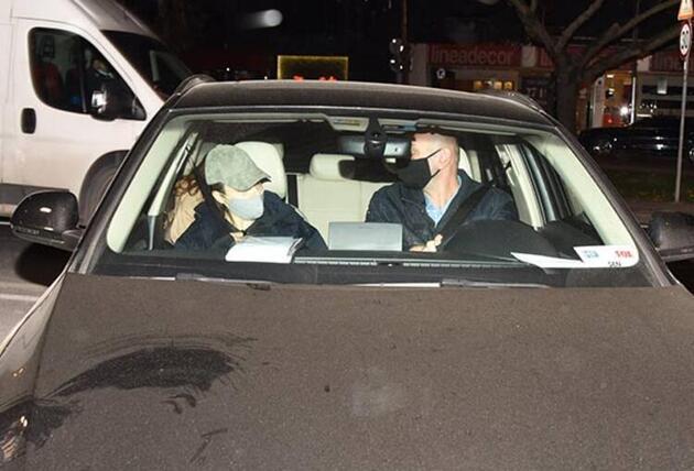 Hande Erçel şoförüne sinirlendi!