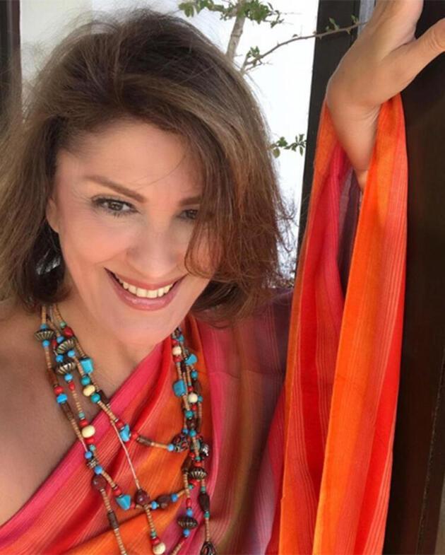 Gülşen Bubikoğlu: Balkonda biraz güneşlenme