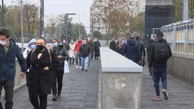 """İstanbul'da """"Kademeli Mesai"""" başladı"""