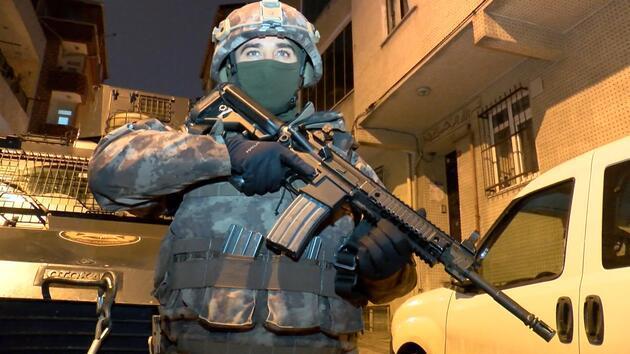 İstanbul'da DEAŞ operasyonu! Çok sayıda gözaltı var