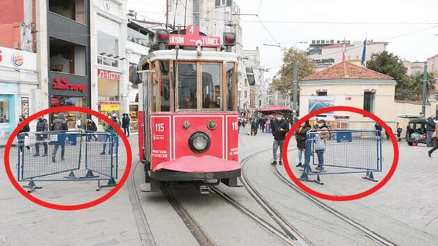 Bugün resmen başlıyor: İstiklal Caddesi'ne 7 bin kişi sınırlaması