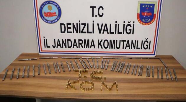 Kalem görünümlü 50 suikast silahı ele geçirildi