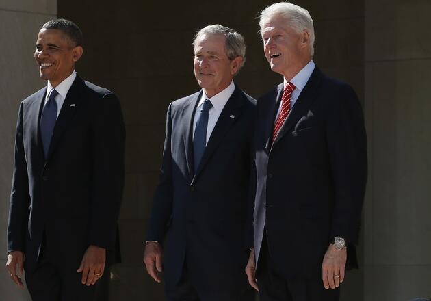 Gönüllü oldular: Obama, Bush ve Clinton canlı yayında aşı olacak