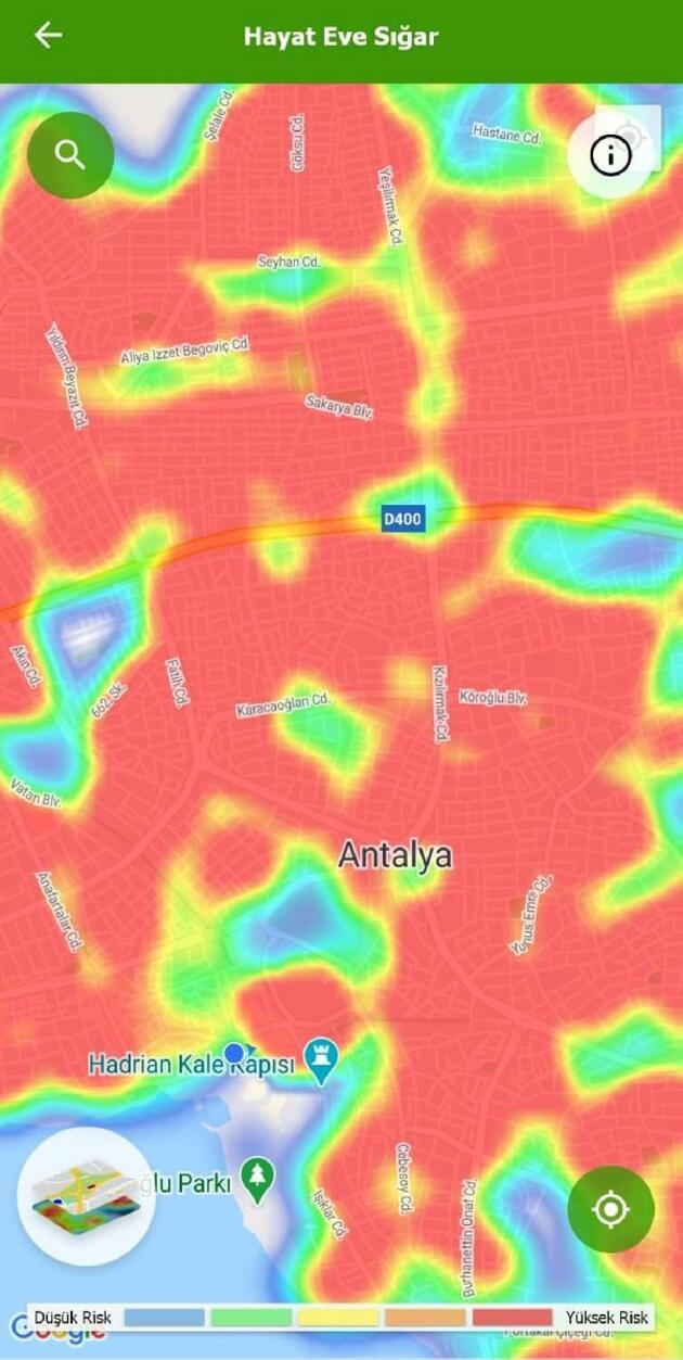 Antalya'da aile içi bulaş riski arttı