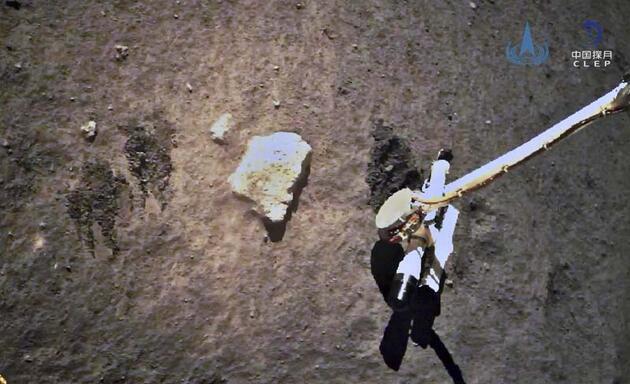 NASA anlaştı! Ay'dan 1 dolara toprak örneği