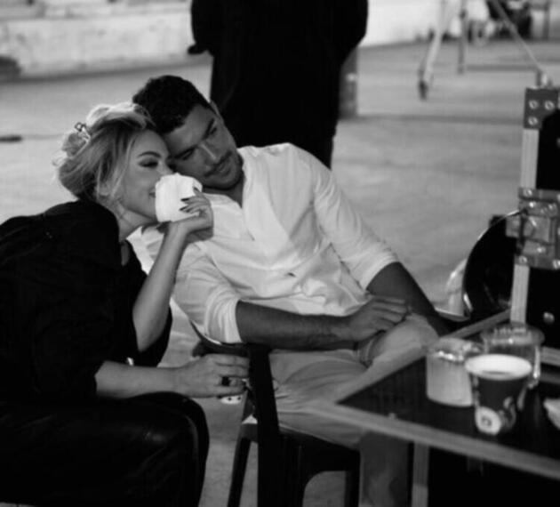 Kaan Yıldırım sevgilisi Hadise ile fotoğrafını paylaştı! Aşk ateşi...