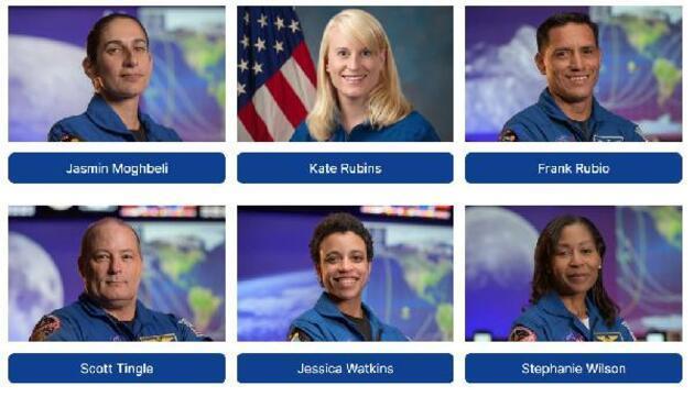 NASA Ay'a gidecek 18 kişilik ekibin kimliklerini açıkladı