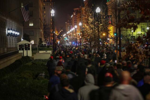 Trump destekçileri ikinci kez sokaklarda