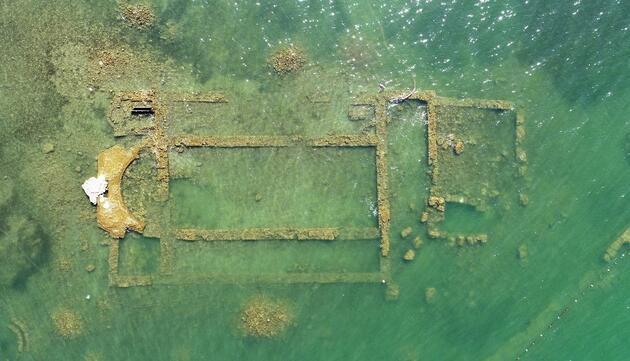 İznik Gölü'nün dibinde 100 yıllık keşif