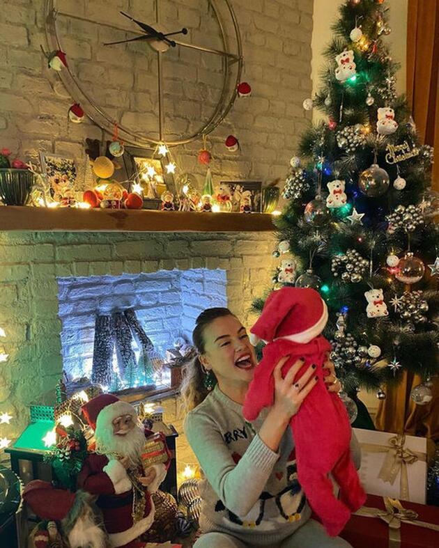 Seda Güven'den bebeğiyle ilk kare