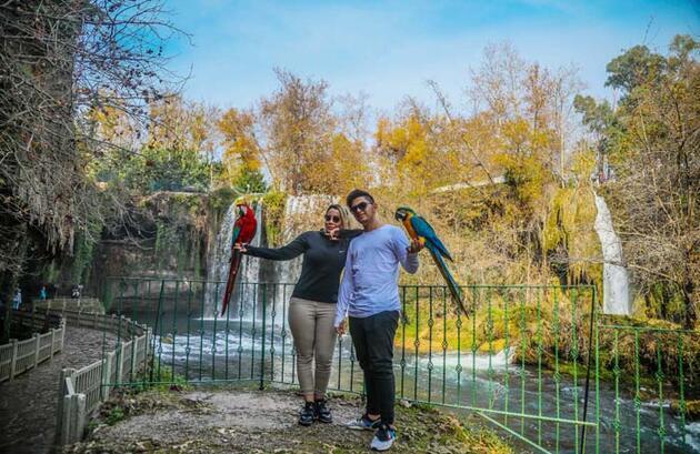 Antalya'nın içinde doğa harikası bir yer! 'Saatlerce izledim, ruhum dinlendi'