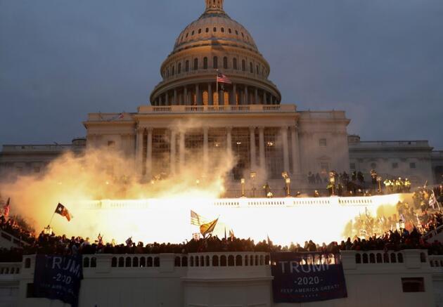 ABD'de tarihe geçecek gün: 6 Ocak Baskını... İşte anbean kongre baskınında yaşananlar