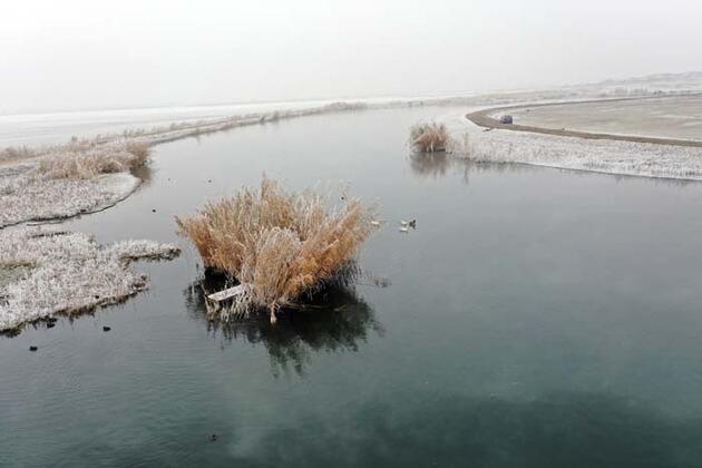 Türkiye'nin en büyük milli parklarından biri! Kış güzelliğiyle göz kamaştırıyor