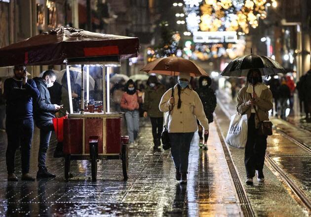Son dakika haberi... Meteoroloji uyarmıştı! Sağanak yağış etkili oldu