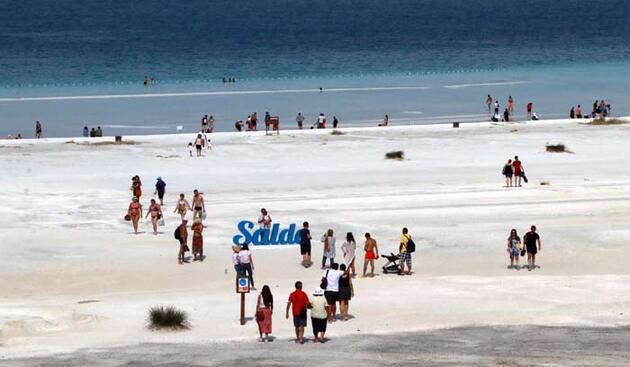 Salda'ya 1 milyon ziyaretçi