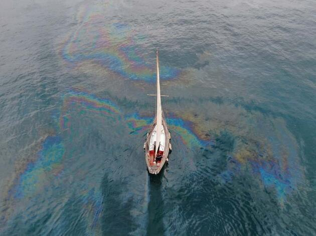 Marmara Denizi'nde dev petrol sızıntısı