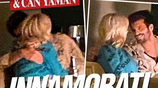 İtalyan paparazziler görüntüledi! Can Yaman, Diletta Leotta ile aşk yaşıyor
