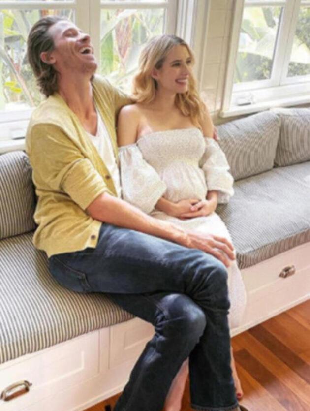 Emma Roberts'ın bebeği sosyal medyayla ilk kez tanıştı