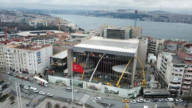 AKM inşaatının yüzde 80'i tamamlandı, işte son durum