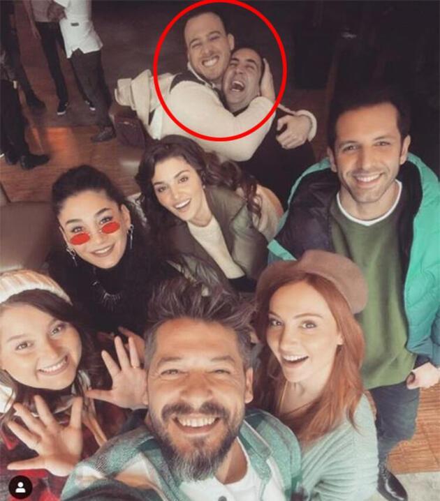 Hande Erçel ve Kerem Bürsin hakkında çıkan aşk dedikodularını Sarp Bozkurt tiye aldı!