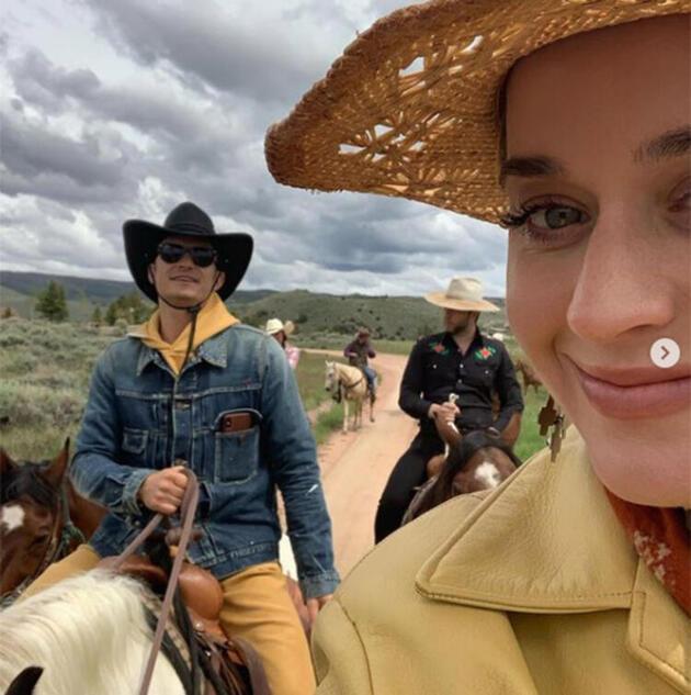 Katy Perry'den Orlando Bloom'un doğum gününü dikkat çeken bir paylaşımla kutladı