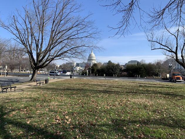 Biden'ın yemin töreni öncesi Washington DC'de çalışmalara hız verildi